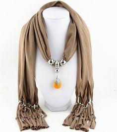 2015 New Arrival Charms Scarf jewellery Pendant Scarf Jewelry Scarves Necklace Scarf Free Shipping