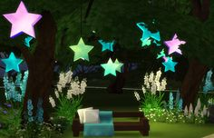 Sims 4 CC's - The Best: Lilacs & Stars by Sims 4 Studio