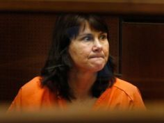 The former Los Angeles police detective convicted of murdering her ex-lover's wife in 1986 was sentenced to 27 years to life in prison.  Stephanie Lazarus, 52, was found guilty in March 2012 of killing Sherri Rasmussen, who was bludgeoned and shot to death in the condo she shared with her husband of three months, John Ruetten.   Superior Court Judge Robert Perry gave Lazarus a term of 25 years to life for first-degree murder. plus two years for firearms violations.
