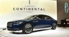 The 2017 Lincoln Continental Will Be Made In Michigan