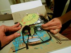 work in progress with #Anne_Wenkel and #Ekaterina_Koroleva | #The_Sketchbook_Project