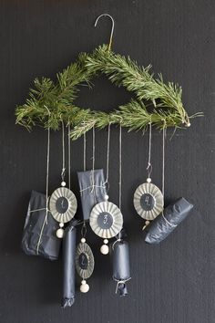 BLOG: mariannedebourg.no / Instagram: @mariannedebourg Christmas Diy, Christmas Decorations, Marianne, Wind Chimes, More Fun, Most Beautiful Pictures, Presents, Instagram, Outdoor Decor