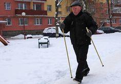 Лучшие «друзья» 71-летнего жителя Лиды – палки, Или как испанская методика скандинавской ходьбы прижилась на Лидчине
