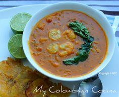Cocado- Sudado de Camarón or Prawn's Stew Colombia, cocina, receta, recipe, colombian, comida.