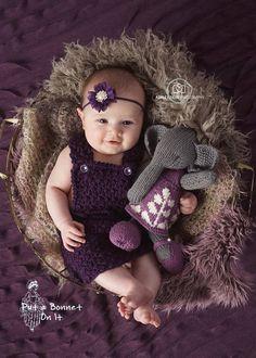 3 Month Dress Romper Bib Buttons Crochet Bodysuit