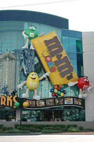 M&M's World Near the corner of the Strip and Tropicana Avenue next to MGM. Open daily 9 a. to midnight. Las Vegas Vacation, Las Vegas Blvd, Las Vegas Nevada, Vacation Trips, Las Vegas With Kids, Usa Holidays, Chocolate Heaven, Travel Usa, Step Inside