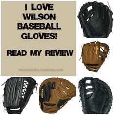 Everyone has head of Wilson baseball gloves.  Many players use them including MLB players.  Why?  Read my review to learn why as well as which are the best models to use today.