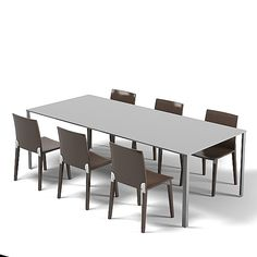molteni modern dining table contemporary chair