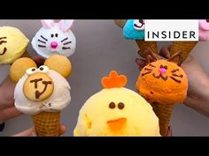 How to Make Character Gelato - YouTube