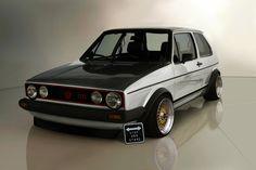 VW Golf MK1 by Tomica