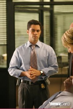 Medium shot of Danny Pino as Scott.  (Photo by Michael Ansell/Warner Bros./Getty Images)