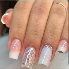 Simple Acrylic Nails, Best Acrylic Nails, Simple Nails, Elegant Nails, Stylish Nails, Trendy Nails, Baby Bloomer Nails, Broken Nails, Glamour Nails