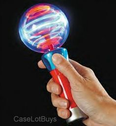light up this spinning ball wand red yellow green and blue lights. Black Bedroom Furniture Sets. Home Design Ideas
