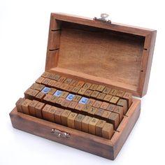 70pcs de madera del alfabeto Cartas Sellos de Caucho Número sello Estilo Vintage Y.P.Selected http://www.amazon.es/dp/B00BY0SMNC/ref=cm_sw_r_pi_dp_1T4tub1QV9SXD