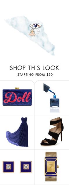 """Doll Day Dream"" by rlrobinson78 ❤ liked on Polyvore featuring Edie Parker, Remedios, Carvela and Tory Burch"