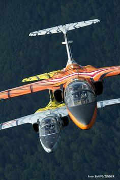 Saab 105 OE - Tiger Squadron - Österreichische Luftstreitkräfte (Austrian Air Force), Austria