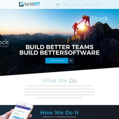lucidLIFT Needs a Website! by Mithum