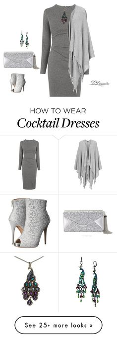 """""""Cocktails anyone?"""" by diane-711 on Polyvore featuring BCBGMAXAZRIA, Whistles, Betsey Johnson, Lauren Lorraine, Joseph, women's clothing, women's fashion, women, female and woman"""
