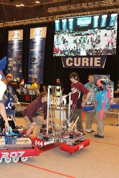 The Grandville High School RoboDawgs recently earned a semi-final spot in the FIRST Robotics World Championship.