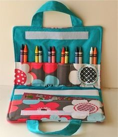 Crayon Art Folio PDF Sewing Pattern
