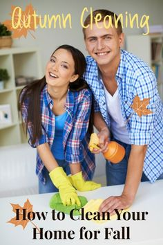 It's starting to cool off. Don't let it get too cold before doing some deep cleaning. Cleaning isn't just for spring, do some Autumn Cleaning! Check out these How to Clean Your Home for Fall Tips ~ Tipsaholic.com #autumn #fall #cleaning