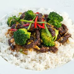 Crispy Chilli Beef - Sweet, Sour, Salty and Spicy! Can easily be made Gluten free too!