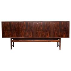 Shop sideboards and other antique and modern storage pieces from the world's best furniture dealers. Modern Sideboard, Sideboard Buffet, Scandinavian Design, Norway, Shelving, Modern Furniture, Cushions, Furniture Storage, Buffets