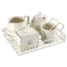1000 images about comptoir de famille on pinterest for Set petit dejeuner porcelaine