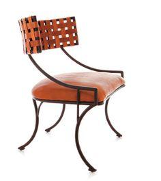 BeeLine Home by Bunny Williams reinterprets klismos chair quite well
