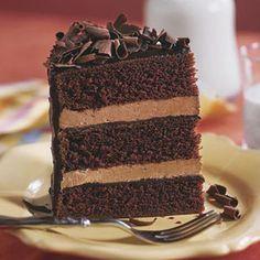 Luscious Layer Cakes   Chocolate Cake IV   SouthernLiving.com