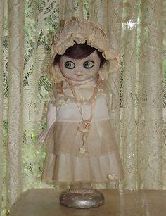 "RARE Circa 1917 Antique Chalkware Kewpie Doll Carnival Prize 13"" Flapper | eBay"
