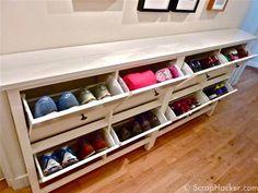 hermes shoe cabniet ikea hack - Bing Images