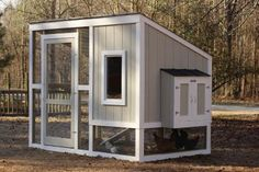 Step-by-step plans from HGTV for a backyard coop to suit any style.