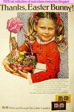 Easter. M&M's, 1978