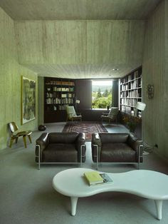 oncrete Home By Schneider & Schneider – Captured By Bergdorf  Read more http://www.2015interiordesign.com/decoration-ideas/concrete-home-by-schneider-schneider-captured-by-bergdorf/