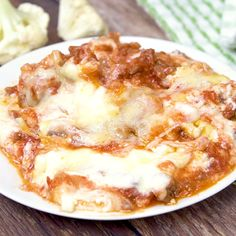Keto Cauliflower Ziti - Enjoy all the flavours of hearty Italian meal without the carbs! This keto casserole is meaty and cheesy Cauliflower Ziti - Enjoy all the flavours of hearty Italian meal without the carbs! This keto casserole is meaty and cheesy. Ketogenic Recipes, Low Carb Recipes, Diet Recipes, Cooking Recipes, Healthy Recipes, Low Carb Keto, Sausage Recipes, Comida Keto, Side Dishes