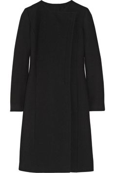 Gucci | Leather-trimmed wool coat | NET-A-PORTER.COM