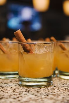 Irish whiskey, apple cider, and cinnamon schnapps combine to create a fantastic cocktail that comes on the Autumn Wind.