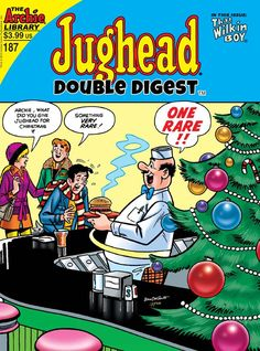 Always love the cover artwork of Dan DeCarlo  First Look: JUGHEAD DOUBLE DIGEST #187 - Comic Vine