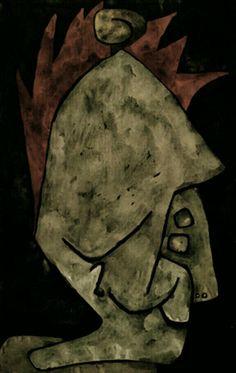 Mephisto as Pallas ~ Paul Klee, 1939