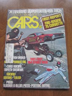 Hi Performance Cars Magazine Jan 1974 Issue by VintageEtcEtc on Etsy