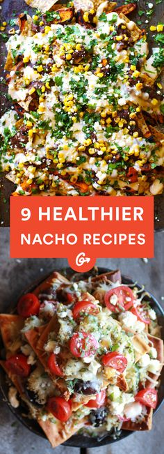 There are plenty of ways to enjoy game-day grub while still boosting your health. #Healthier #Nacho #Recipes http://greatist.com/eat/healthy-nacho-recipes