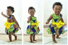 Toddler Ankara Dress