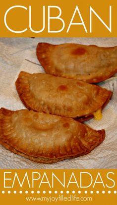 Cuban Empanadas - My Joy-Filled Life