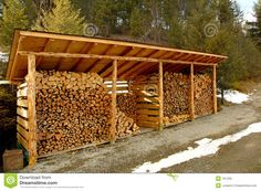 Wood Shed Outdoors - Download From Over 44 Million High Quality Stock Photos, Images, Vectors. Sign up for FREE today. Image: 761229