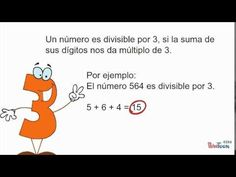 Criterios de Divisibilidad - YouTube Youtube, Signs, Ideas, Math Games, Factors, Vegetable Gardening, Shop Signs, Sign, Dishes
