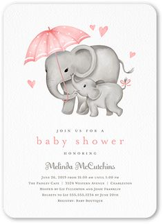 Joining the Herd Girl Stationery Card by Stacy Claire Boyd. Shower her with love and a stylish baby shower invitation. Personalize it with the party details.