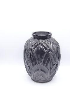Vintage Art Deco style glass vase smoky glass vase art deco | Etsy Vintage Art, Vintage Jewelry, Salvador Dali Art, Wood Engraving, Keep An Eye On, Vintage Glassware, Vases Decor, Art Deco Fashion, Statement Jewelry