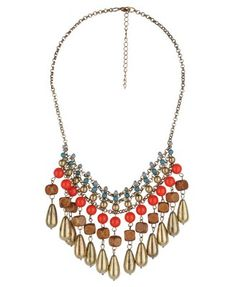 Cleopatra's Closet features a Beaded Collar Necklace from Forever21 $10.80