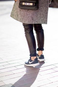 Los tenis Nike el nuevo must del street style : ELLE